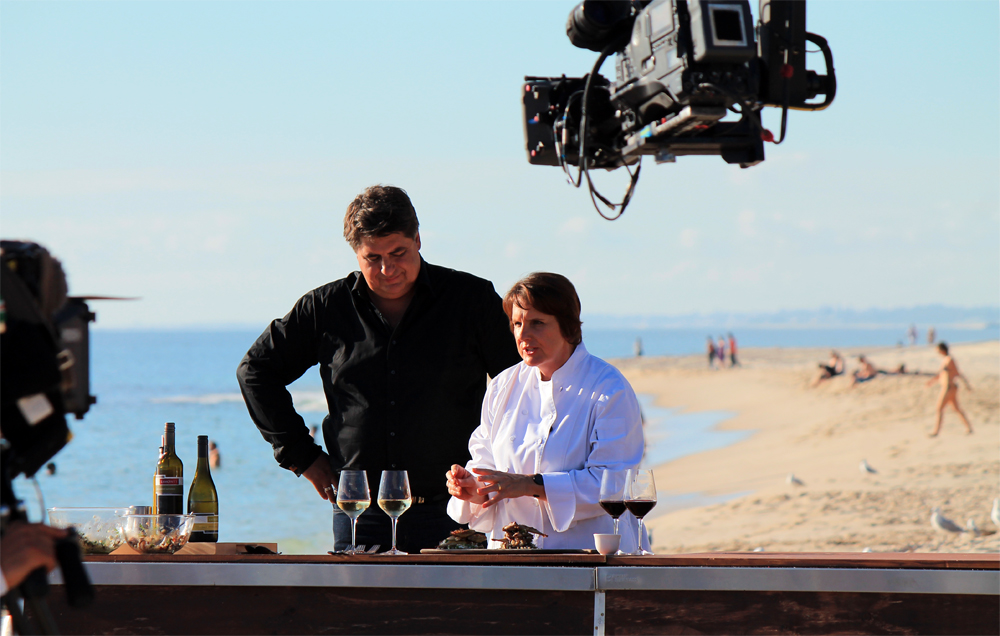 Masterchef: Matt Meets Kate at Cottesloe Beach