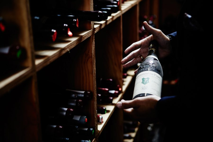 The Nell cellar is home to some great names in world wines