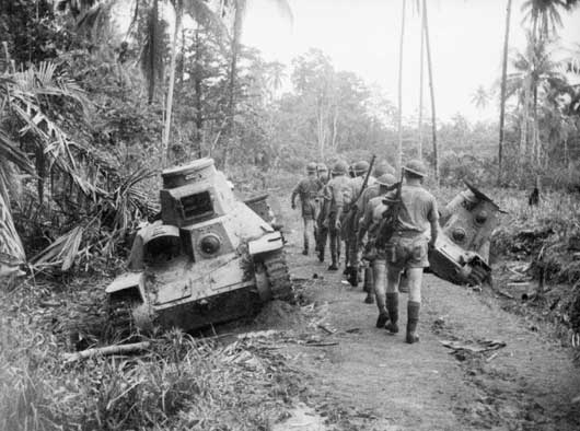 Australian troops at Milne Bay inflicted the first defeat on Japan - due to a tip-off from the codebreakers in Melbourne